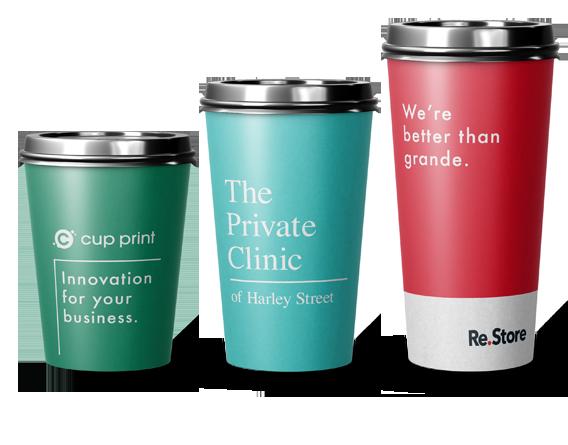 printed paper cups branding advantage