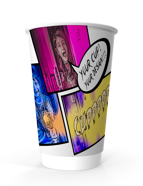 Double Wall Paper Cup 450 ml