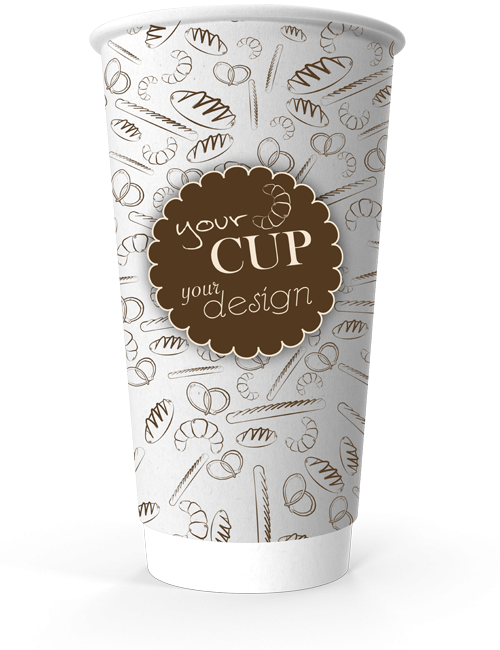 Double Wall Paper Cup 550 ml