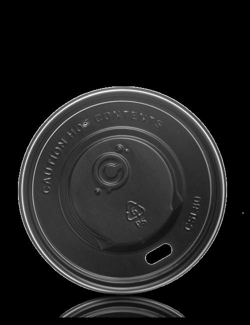 Trinkdeckel 80mm schwarz