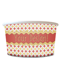 Ice Cream Cup 8oz – Your Design