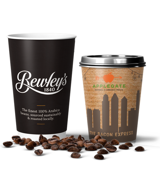 printed paper cups from cup print ireland