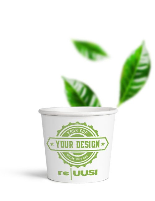 reUusi Single Wall Paper Cup 4oz