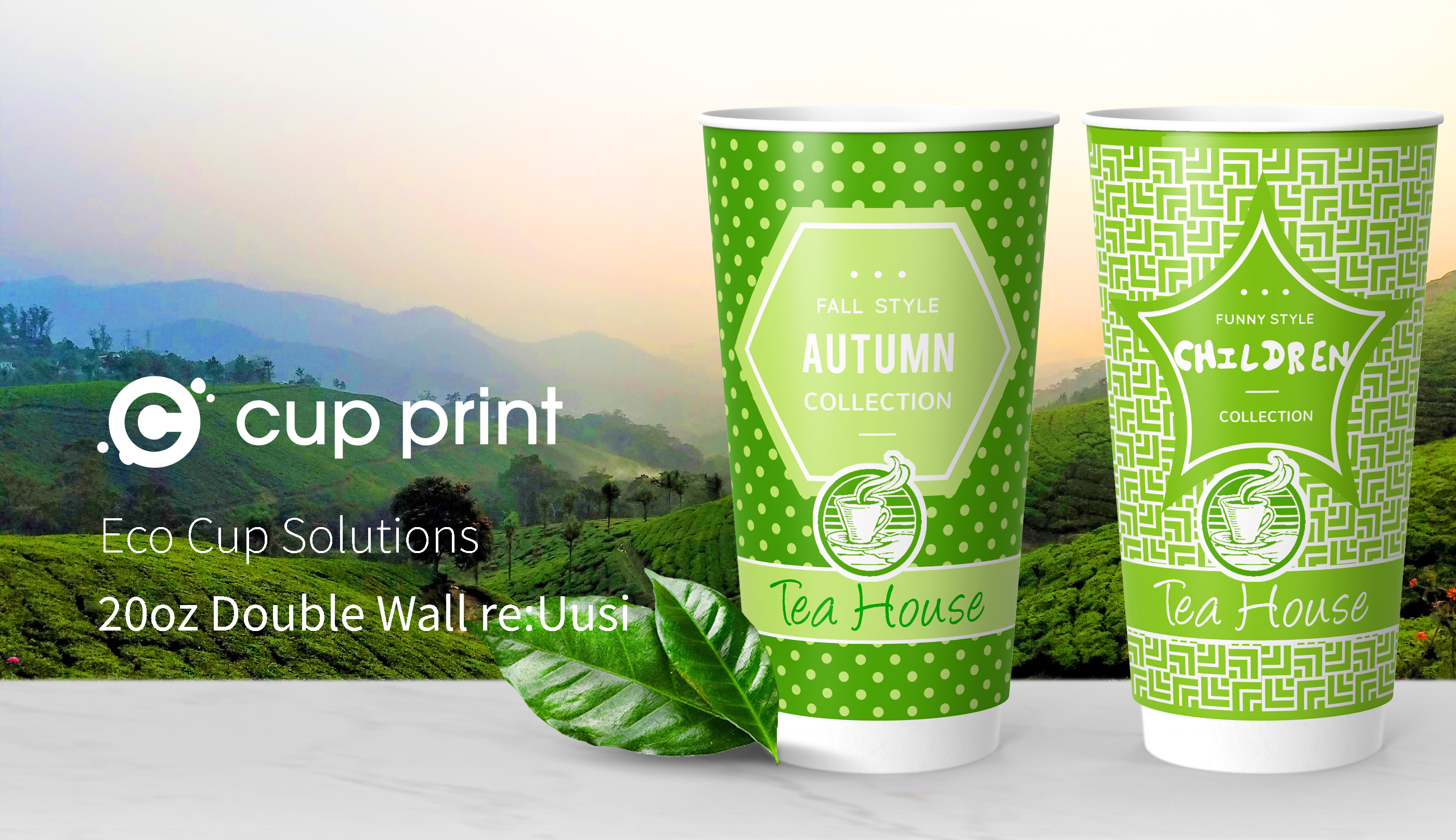 Cupprint reuusi Double Wall Cup 20oz