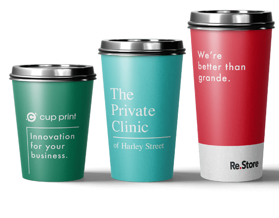 Printed Paper Cups - Custom Produced for Your Brand
