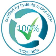 cyclos green dot aaa certified recyclable paper cup