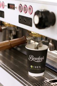 recyclable coffee cup by Cupprint for Bewley's AAA green dot status path 13
