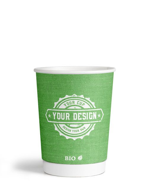300ml 12oz Double Wall Bio Cup