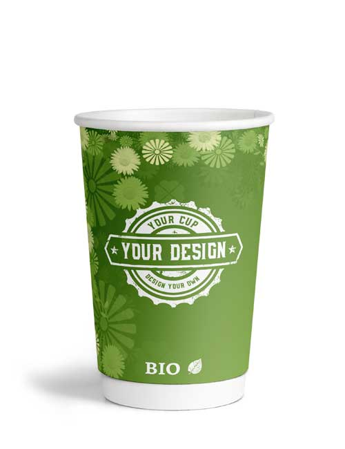 Double Wall Bio Cup 400ml 16oz