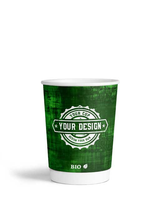 8oz Double Wall Paper Bio Cup