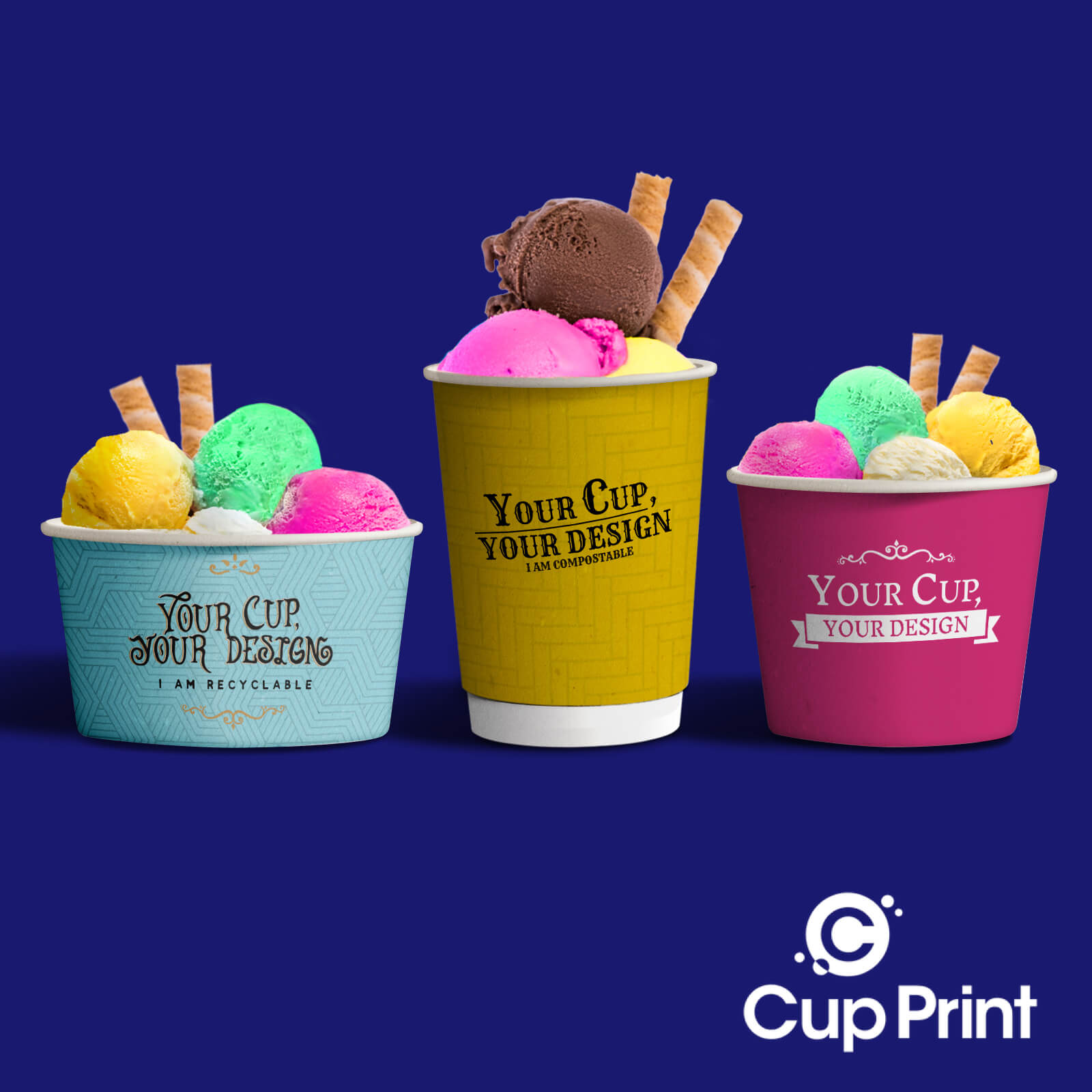 image for Blog post about 2020 tips and trends custom printed eco friendly paper ice cream cups