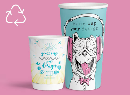 Recycleable Paper Cups from CupPrint
